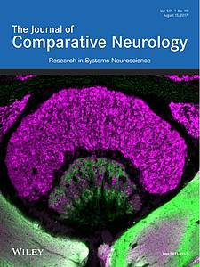 "Cover of the ""Journal of Comparative Neurology"" (2017) Volume 525 Number 12"